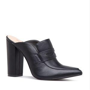 Shoe dazzle Penny Loafer Mule